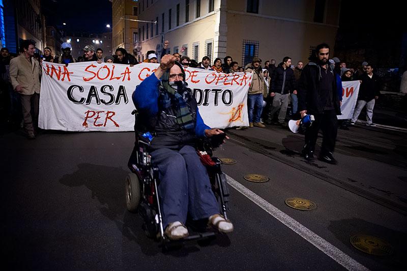 Manifestazione No Tav Roma