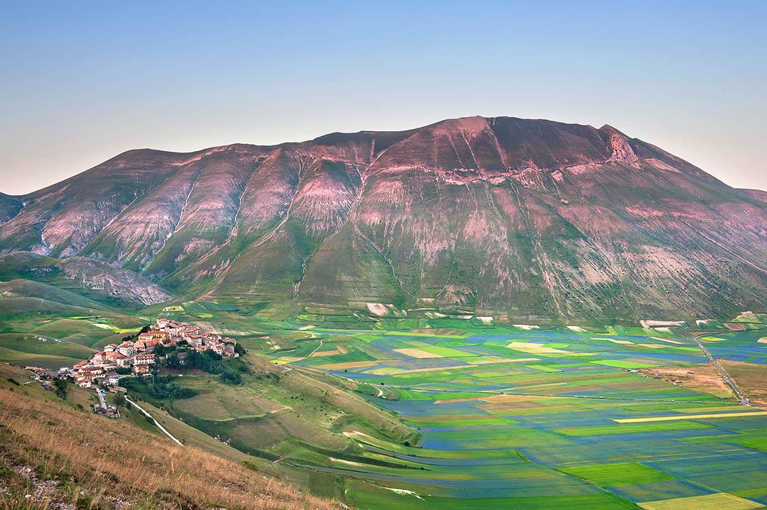 Castelluccio di Norcia Landscape