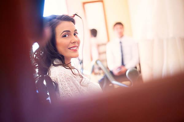 matrimonio preparazione sposa