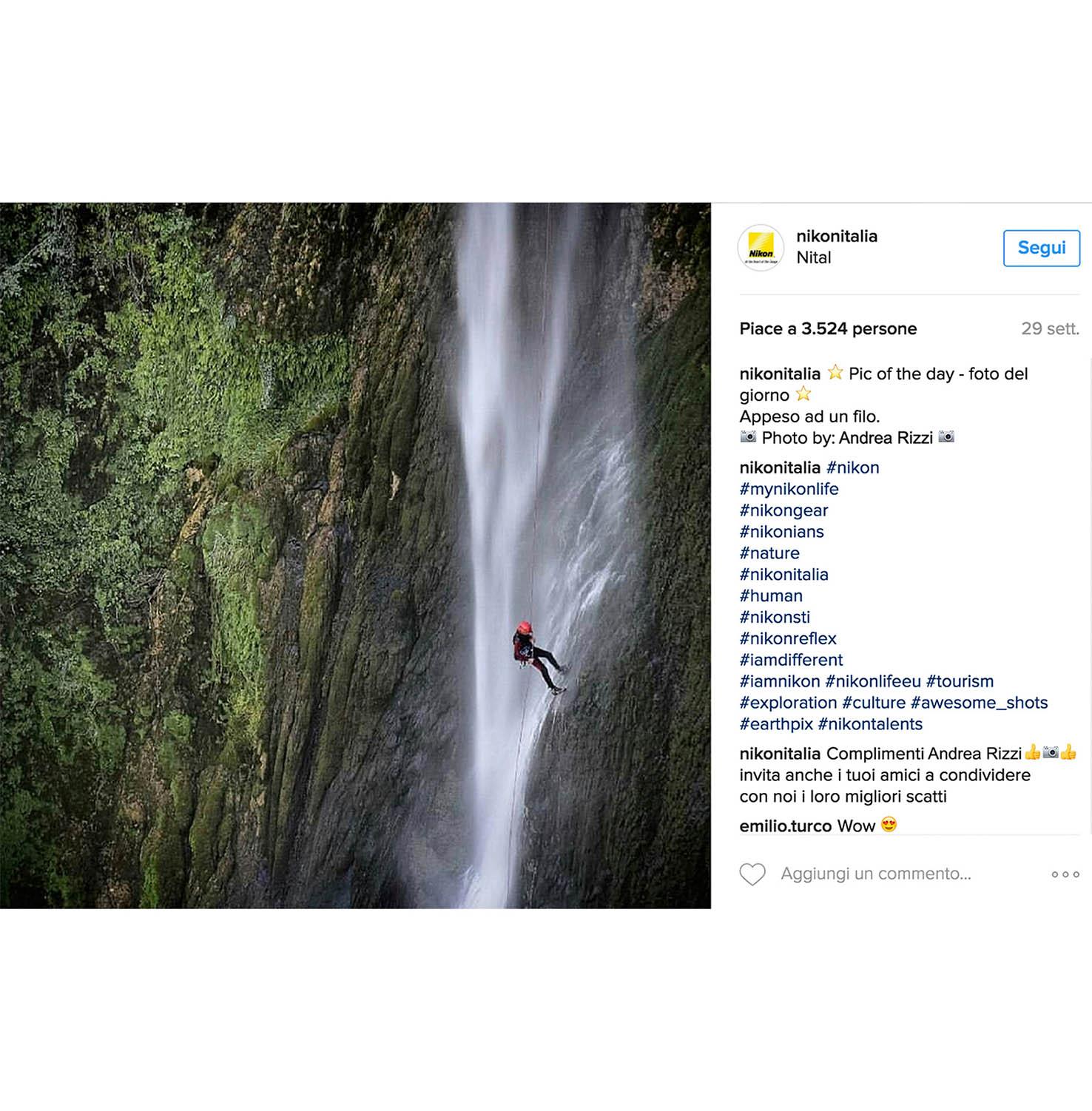 Pic of the day Nikon community Andrea Rizzi