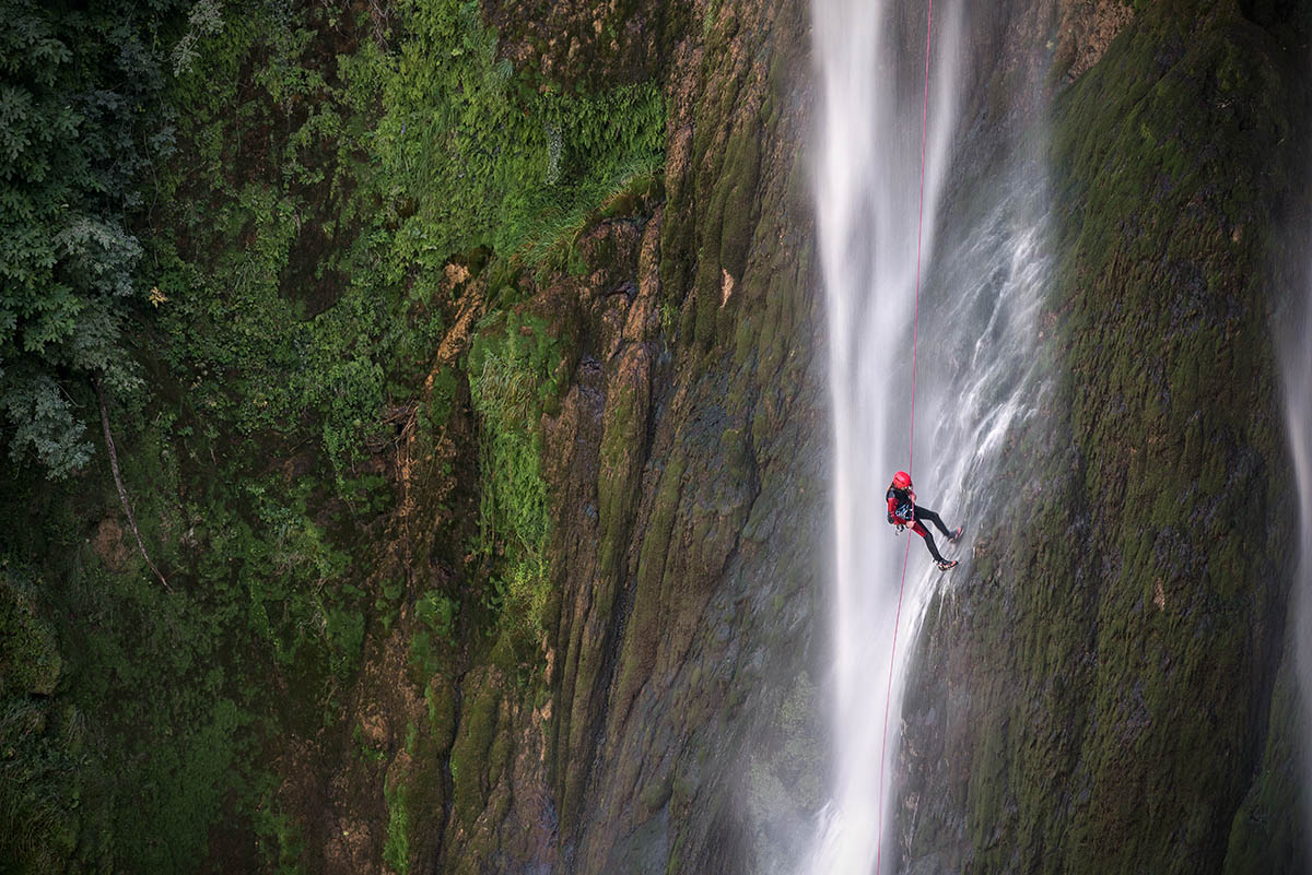 canyoning Cascata delle Marmore