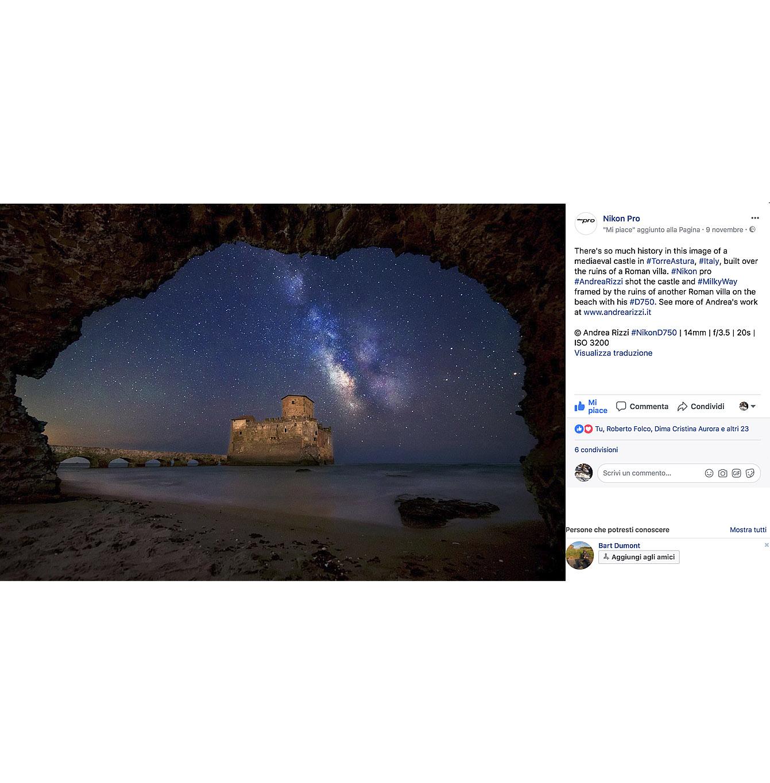 Nikon Pro Andrea Rizzi fotografo
