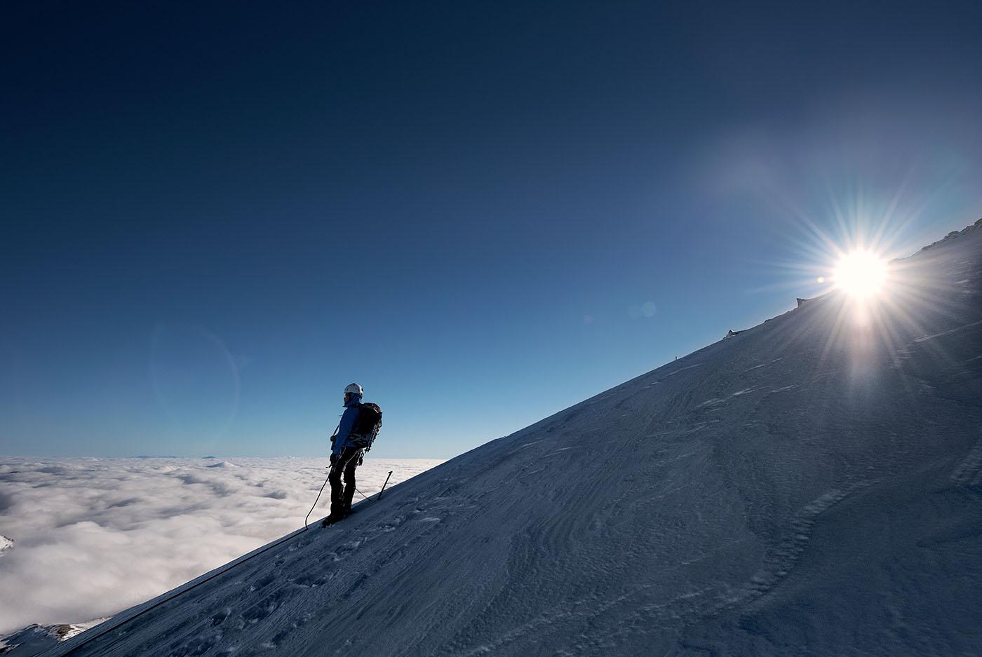 monte Terminillo neve, alpinismo