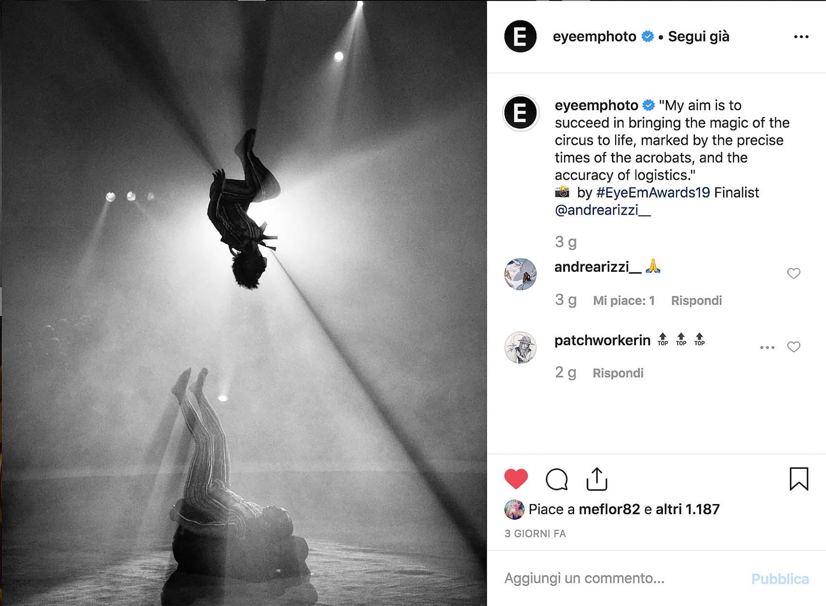 EyeEm Photo Awards 2019 Andrea Rizzi
