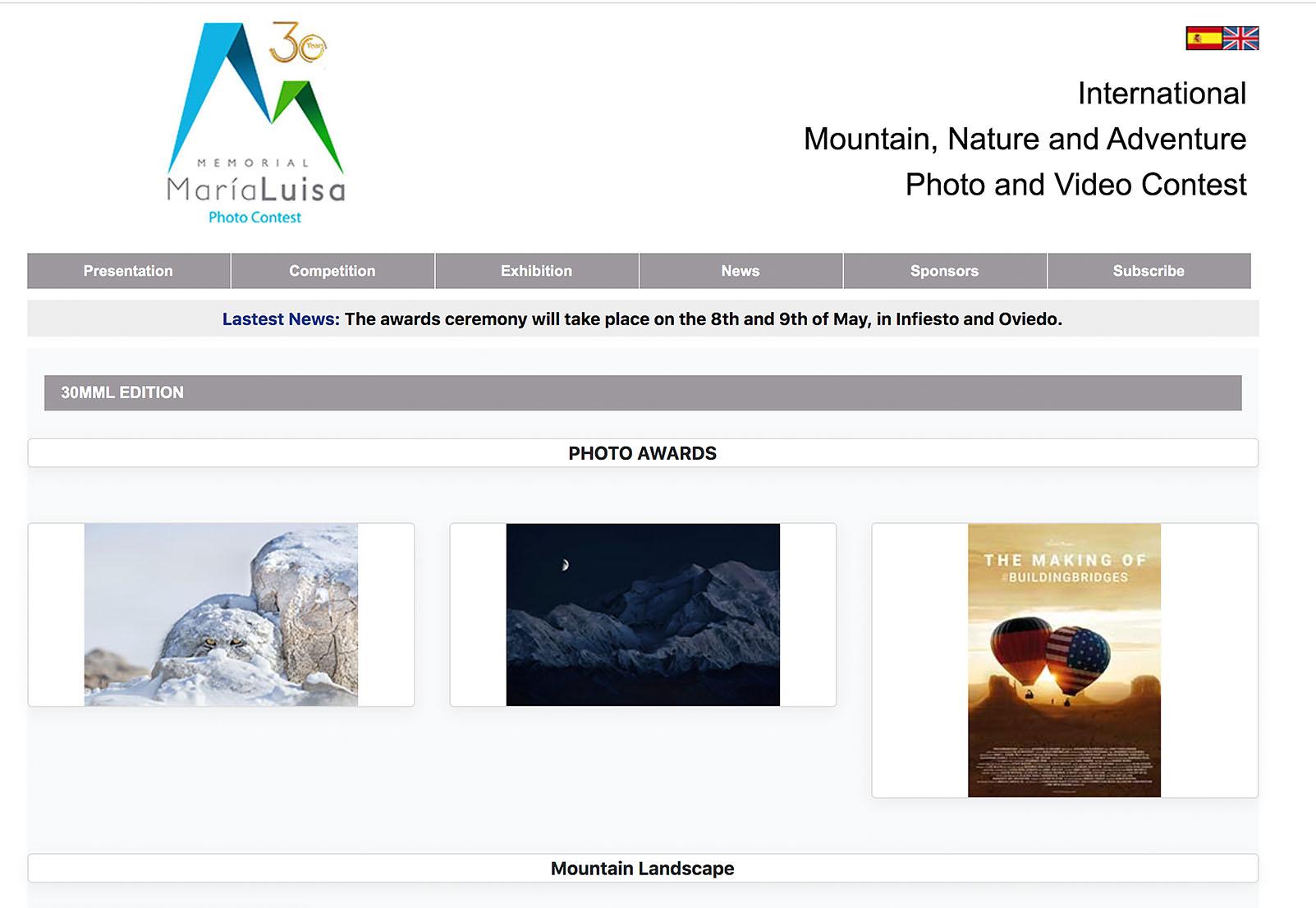 memorial maria luisa photo contest
